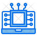 Processor Ai Robotics Icon