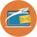Laptop Startup Mail Icon