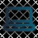 Laptop Cart Ecommerce Icon