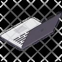 Laptop Notebook Programming Icon