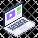 Laptop Portable Computer Mini Computer Icon