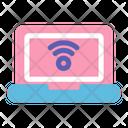 Laptop Notebook Smarthome Icon
