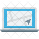 Laptop Location Finder Icon