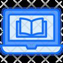 Laptop Book Online Icon