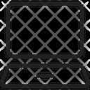 Computer Laptop Screen Icon Icon