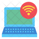 Laptop Technology Wifi Icon