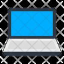 Laptop Minicomputer Screen Icon