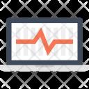 Laptop Monitoring System Icon