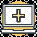 Laptop Hospital Records Icon