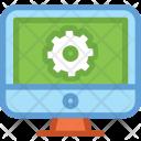 Laptop Service Maintain Icon