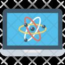Laptop Pc Atom Icon