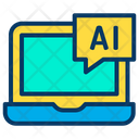 Ai Artificial Digital Icon