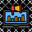 Laptop Analysis Icon