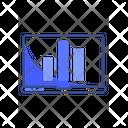 Laptop Analysis Graph Analyse Icon