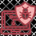 Laptop Antivirus Icon