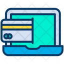 Laptop Banking Icon