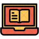 Laptop Book Icon