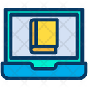 Book Education Laptop Icon