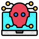 Ai Computer Robotics Icon