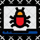 Laptop Bug Laptop Virus Laptop Icon