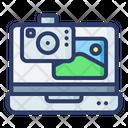 Laptop Camera Laptop Image Media Icon