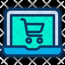 Laptop Cart Icon