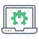 System Setting Laptop Repairing System Configuration Icon