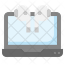 Laptop Connected Icon