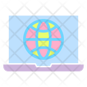 Laptop Connection Icon