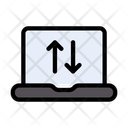 Laptop Connectivity Icon