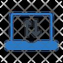 Transfer Laptop Connectivity Icon