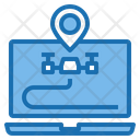 Laptop Control Drone Ai Icon