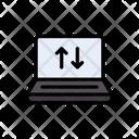 Laptop Notebook Data Icon