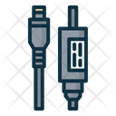 Laptop Dc Cable Icon