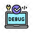 Laptop Debug Fixed Icon