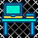 Laptop Desk Icon