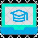 Laptop Education Icon