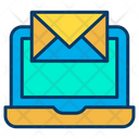 Laptop Email Digital Marketing Email Icon