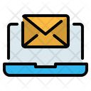 Laptop Email Icon