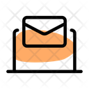 Laptop Email Online Email Online Mail Icon