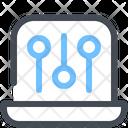 Laptop Encryption Icon