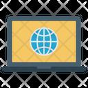 Laptop Global Icon