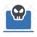 Hacking Cybercrime Computer Icon