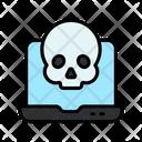 Laptop Hacking Internet Hacking Online Hacking Icon