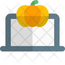 Laptop Halloween Icon