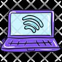 Laptop Internet Icon