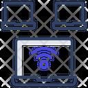 Laptop Internet Laptop Wifi Pc Internet Icon