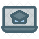 Laptop Learning Icon