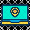 Laptop Location Icon
