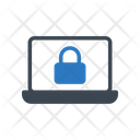 Lock Secure Laptop Icon